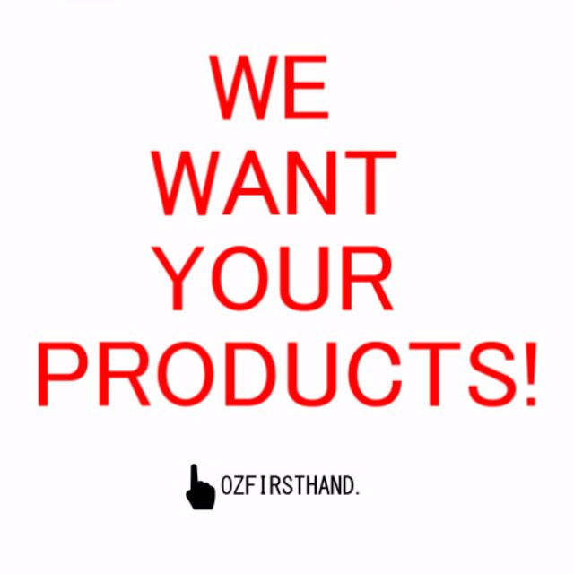 Offer Us Your Products!