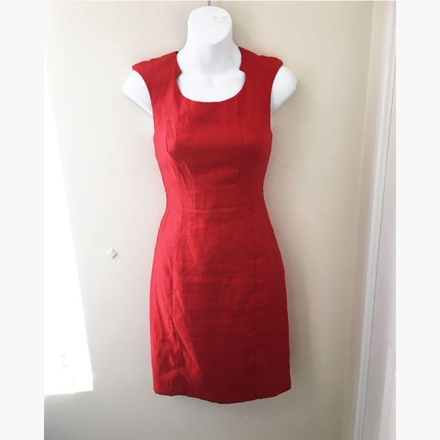 OJAY Red Dress