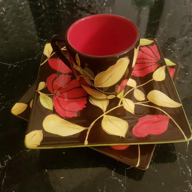 Plates And Coffee Cups