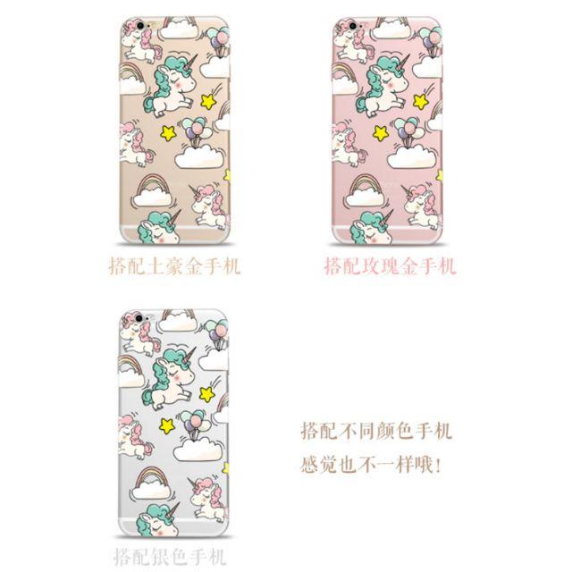 [PO] Unicorn iPhone Clear Case Design A