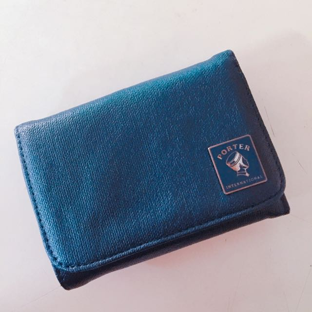 PORTER短夾🔺深藍色🔺
