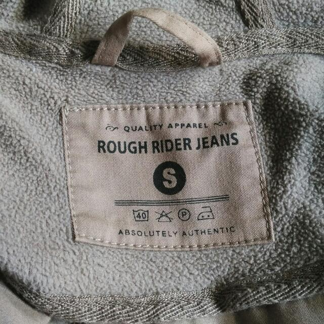 Rough Rider Jeans Coat With Hoodie