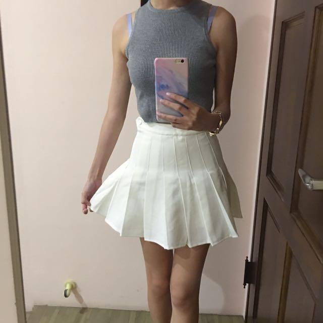 百折白褲裙s