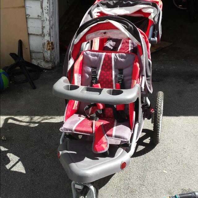 Schwinn Double Jogging Stroller