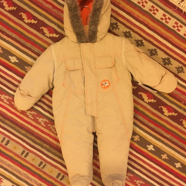 e57900a388dc4 SEARS Warm Padded All In One Coat  Body Suit