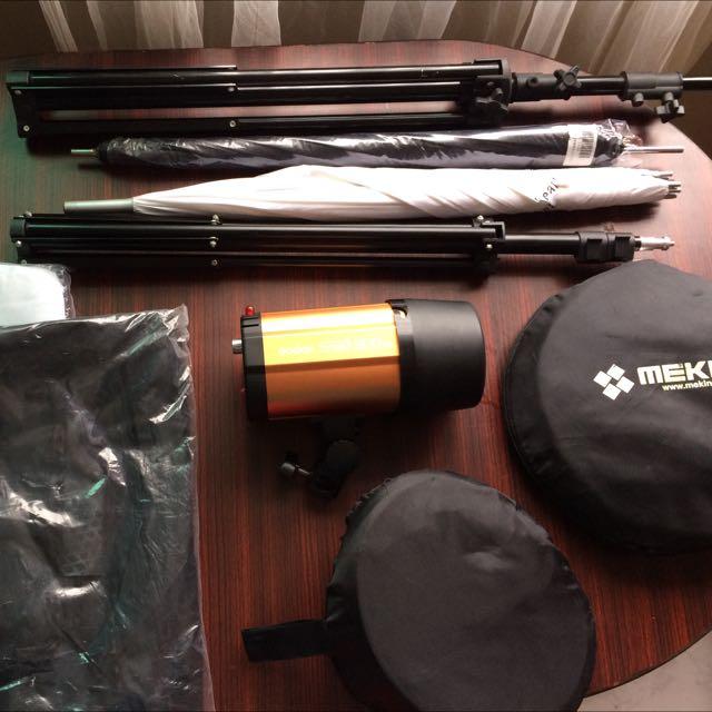 Studio Photography And Lighting Kit