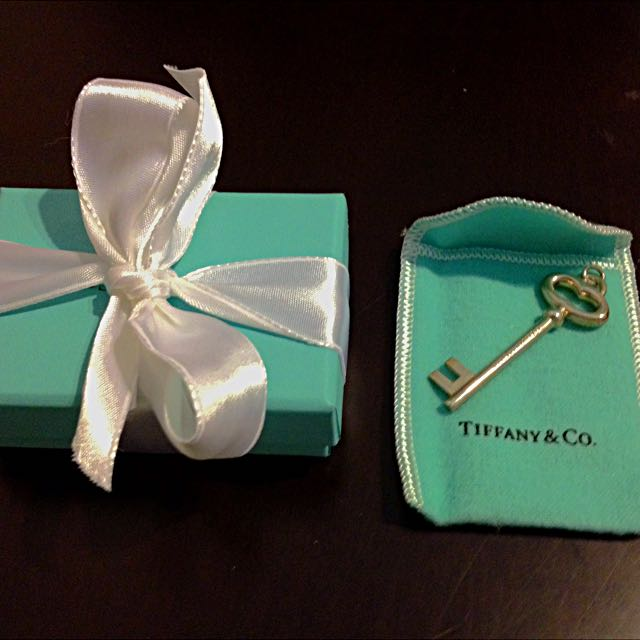 Tiffany & Co. Keyhole Necklace