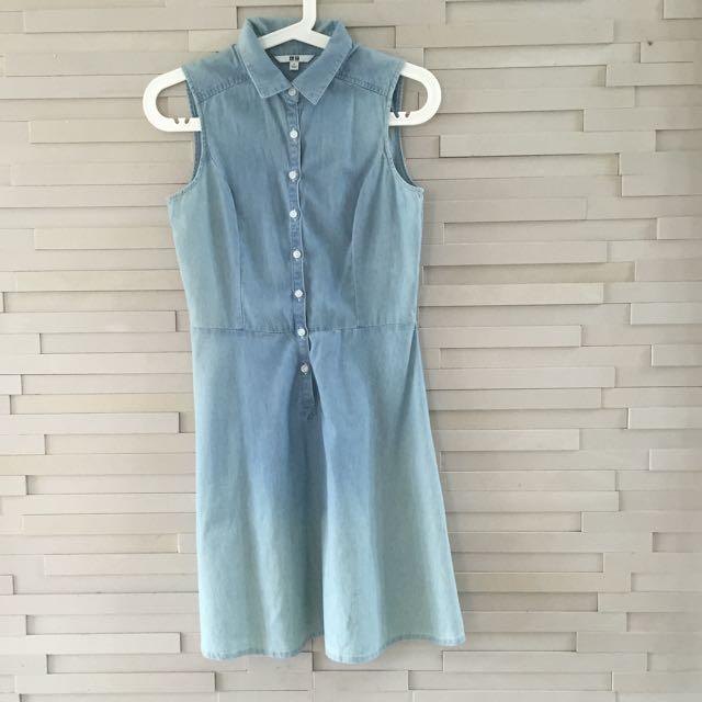 Uniqlo Denim Dress