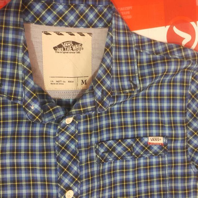 Vans Plaid Shirt