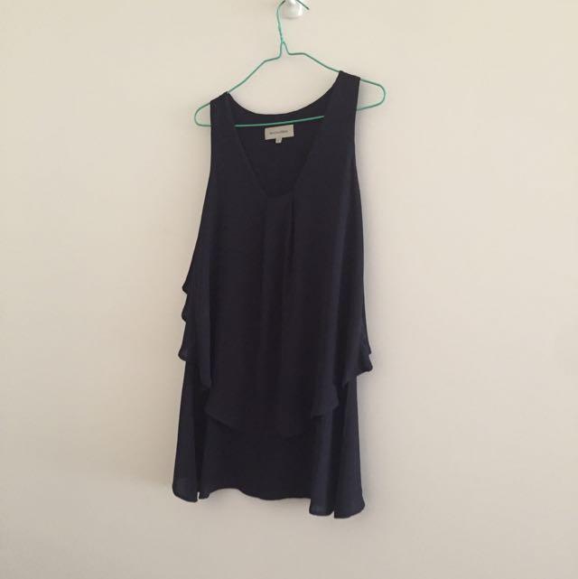 Veronica Maine Sleeveless Size 6  Long Top