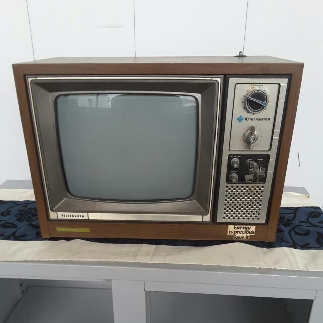 Vintage Telefunken TV