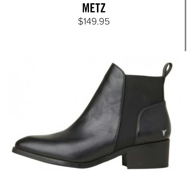 Windsor Smith Metz Boots Size 6