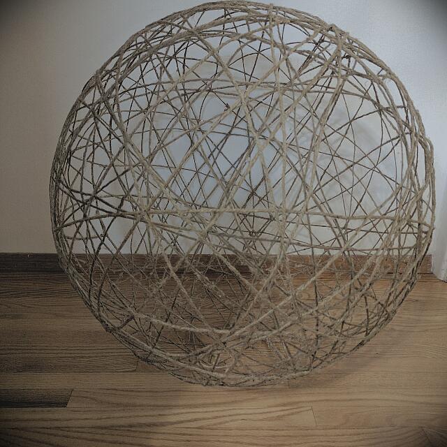 XL Decorative Jute Ball