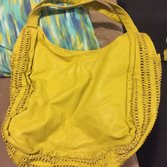 Yellow Handbag - $25.00