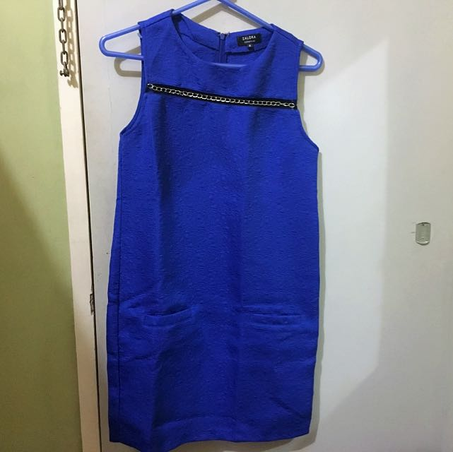 ZALORA BLUE DRESS