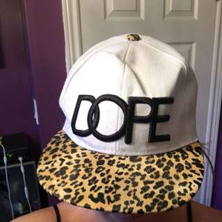 🔵 Cheetah Dope Hat