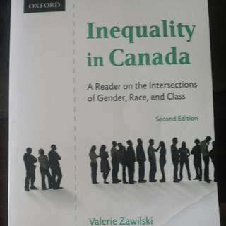 Inequality In Canada