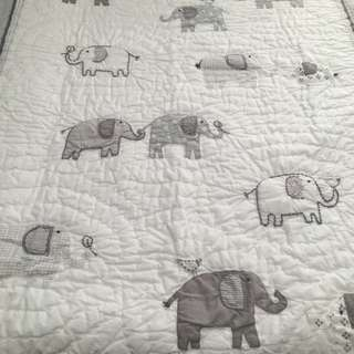 Baby Elephant Quilt By Pottery Barn Kids