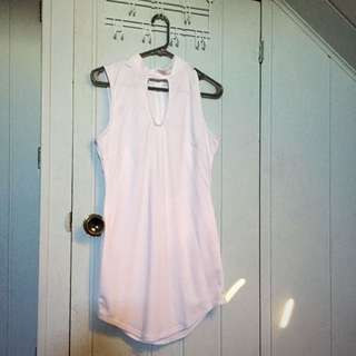Sirens White Dress Size L