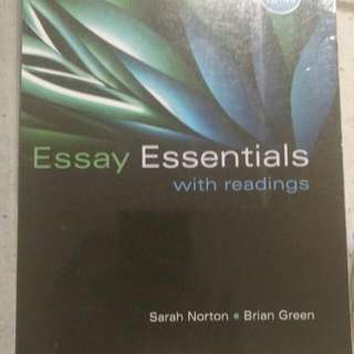 Essay Essentials St Clair Textbook