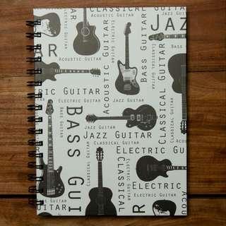 Music Writing Notebook