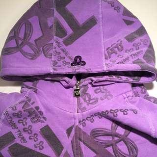 Dark Purple TNA Sweater