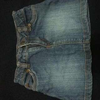 Original Carter's Denim Skirt