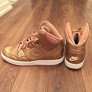 Rose Gold Nike Air Force
