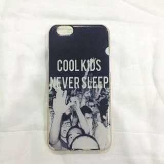 COOL Kids Never Sleep iPhone6 Jelly Case