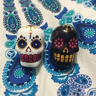 Matching Skull Ornaments