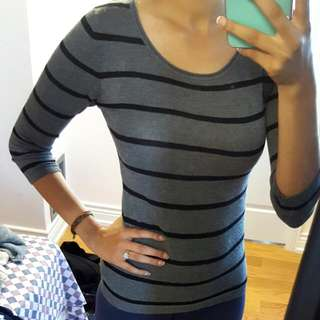 Black & Grey Sweater