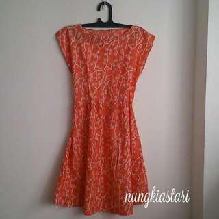 Dress Katun Batik Cirebon