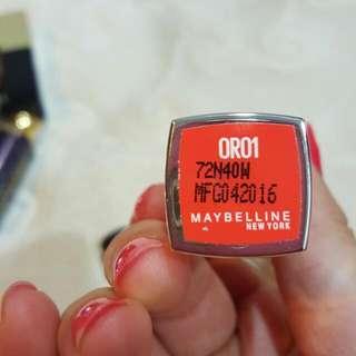 Maybelline 三色唇膏
