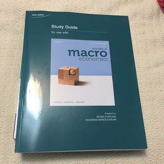 Study Guide For Principles Of Macro Economics