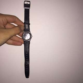 ORIGINAL SWATCH Leather watch