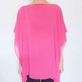 Chiffon Pink Top