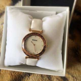 Rose Gold Swarovski Crystal Watch