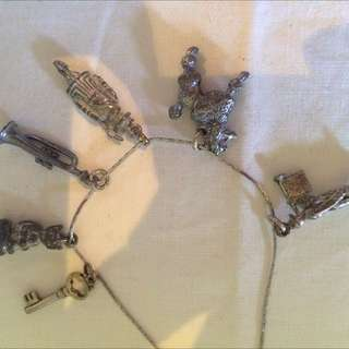 Vintage Solid Silver Charms
