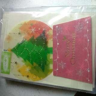 聖誕卡片8入