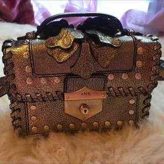 Alexander McQueen Bag Gold