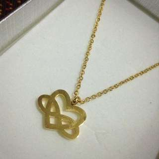 Heart-Infinity Necklace