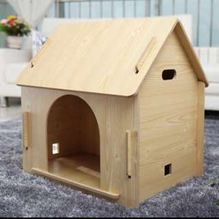 Pet Kennel Wooden For Pets Up To 10kg