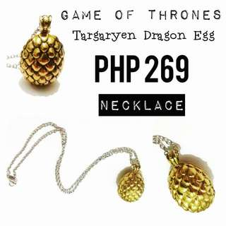 Necklace   Game of Thrones: Targaryen - Dragon Egg