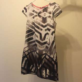 DOTTI Print Dress