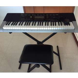Casio keyboard CTK4400