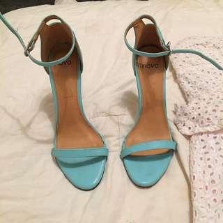 Aqua/blue High Heels Size 7