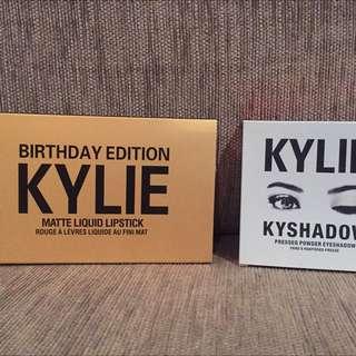 Kylie Cosmetics Mini Matte And Eye Shadows