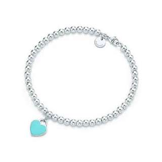 Sterling silver 925 Heart Tag Bracelet