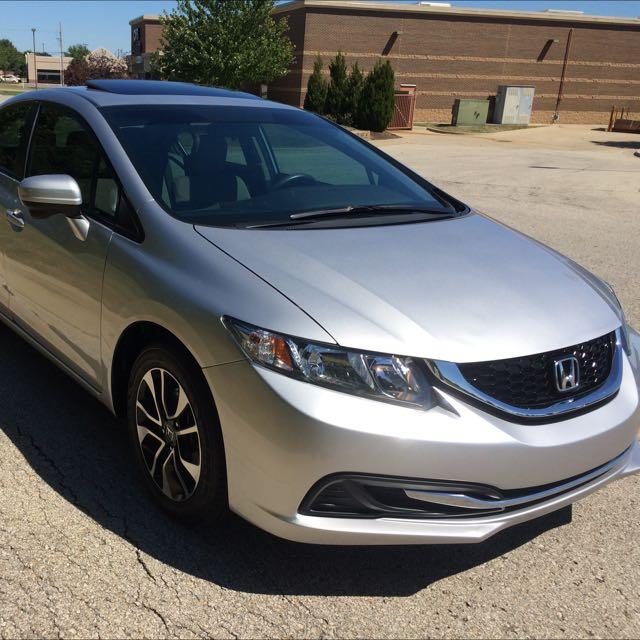 2014 Honda Civic EXL 14k miles