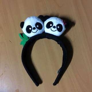 Panda HairBand
